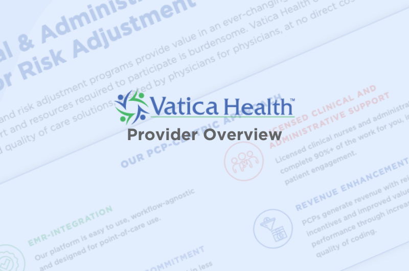 Vatica Provider Overview